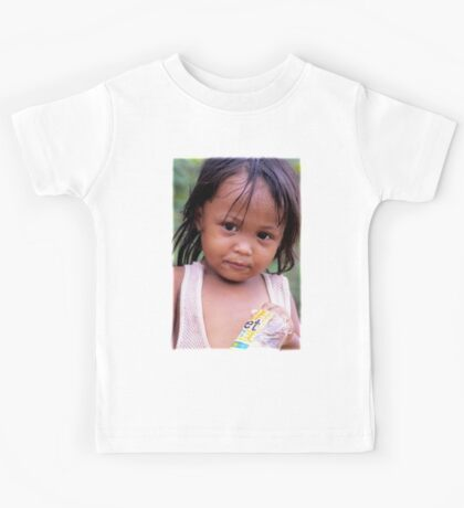 Young Filippino lady. Kids Tee
