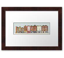Dublin Row Houses Framed Print