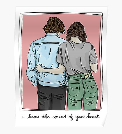 I know the sound of your Heart Poster