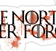 Game Of Thrones - The North Never Forgets Sticker