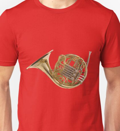 French Horn Invented in Germany Unisex T-Shirt