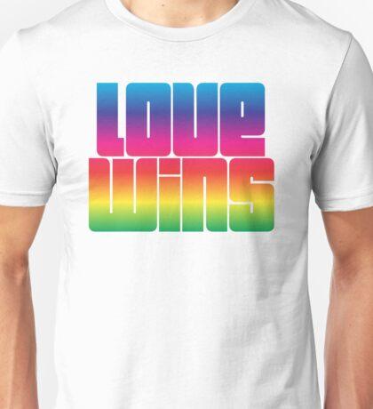 Tshirt design LOVE WINS  Unisex T-Shirt