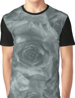 black and white roses Graphic T-Shirt