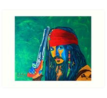 Pirates of the Caribbean Art Print