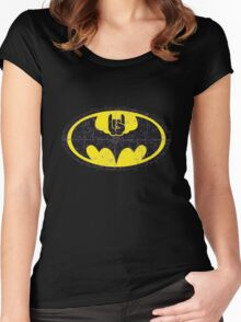 Batmetal Women's Fitted Scoop T-Shirt