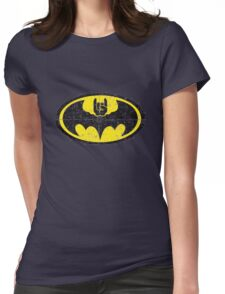Batmetal Womens Fitted T-Shirt