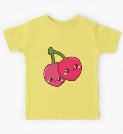 Kawaii Cherries Kids Tee