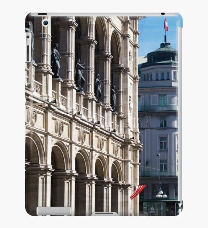 Vienna street and buildings iPad Case/Skin