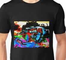 Graffiti Wall  Razz Philly Unisex T-Shirt