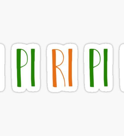 Pi Pi Ri Pi Pi Sticker