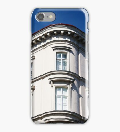 Blue sky and building, Vienna iPhone Case/Skin