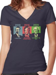 Elections Women's Fitted V-Neck T-Shirt