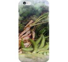 Peas Parsnips and Potatoes iPhone Case/Skin
