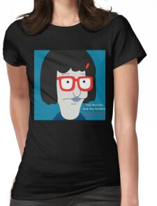 Tina Belcher and the Skillets Womens Fitted T-Shirt