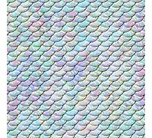 Mermaid Scales - Shiny Light Photographic Print