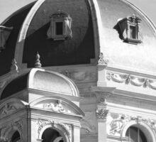 Traditional Austrian building, Vienna Sticker