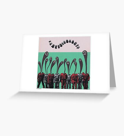 Demon Corps Greeting Card