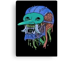Masked Decay Canvas Print