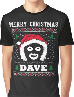 League Of Gentlemen Merry Christmas Dave! Hello Dave! Graphic T-Shirt