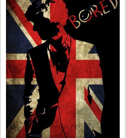 Sherlock 'Bored' Vector Sticker