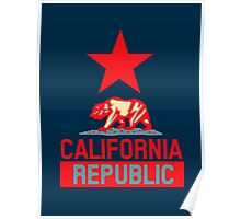 California Republic Hope Style Poster