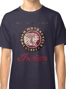 Indian Motorcycle Company retro vintage logo Classic T-Shirt