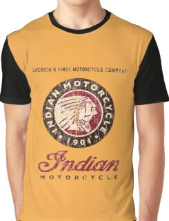 Indian Motorcycle Company retro vintage logo Graphic T-Shirt