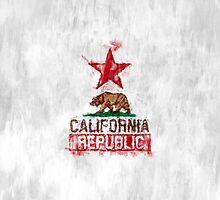 California Republic Painterly by Garaga