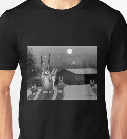 Night scene Unisex T-Shirt