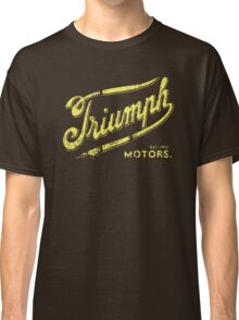 Triumph retro vintage logo Classic T-Shirt