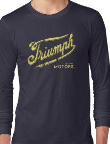 Triumph retro vintage logo Long Sleeve T-Shirt