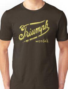 Triumph retro vintage logo Unisex T-Shirt