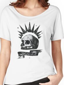 Misfit Skull - Chloe Price Women's Relaxed Fit T-Shirt