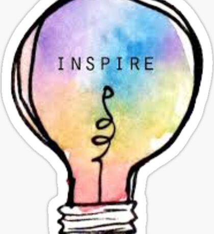 Rainbow Inspire Sticker