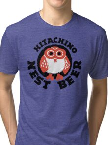 Hitachino Nest Beer Japanese Tri-blend T-Shirt