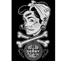 Zombie Roller Derby Girls Photographic Print