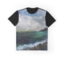 Glancing Back Graphic T-Shirt