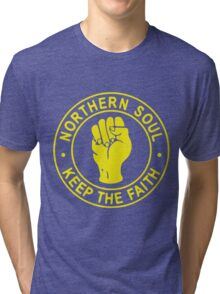 Northern Soul Badge Tri-blend T-Shirt