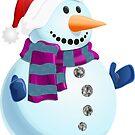 Jolly Snowman by Susan S. Kline
