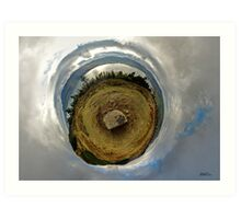 Cloughmore Stone, Rostrevor, County Down Art Print