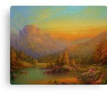 Over The Hills To Killarney Canvas Print