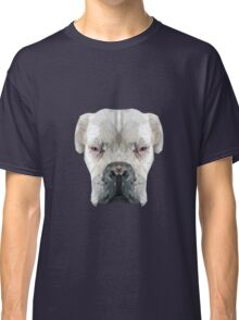 Boxer dog low poly. Classic T-Shirt