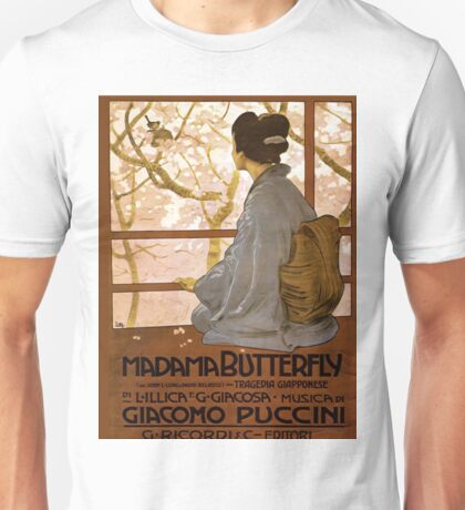 Vintage poster - Madama Butterfly Unisex T-Shirt