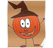 Thanksgiving Pumpkin Poster
