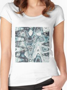 Abstract 141 Women's Fitted Scoop T-Shirt