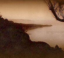 Antique photo @ 1910 Dusky coastline by cherylkerkin