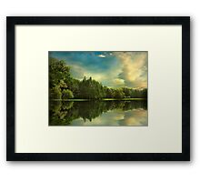 Summer Reflections Framed Print