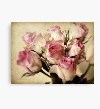 Vintage Treatment Canvas Print