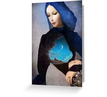 Lady Midnight  Greeting Card