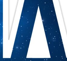 °BASEBALL° L.A. Dodgers Space Logo Sticker